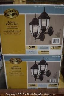 Hampton Bay Exterior Wall Lantern