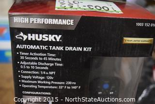 HUSKY Automatic Tank Drain Kit