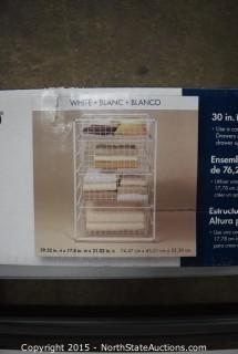 ClosetMaid 30in High Drawer Frame Set
