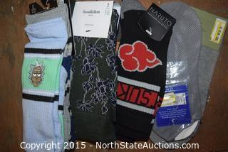 Lot of Men's Underwear and Socks