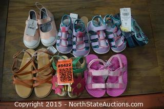 Lot of Toddler Girl Shoes