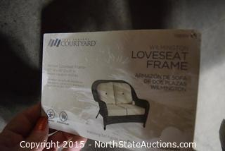 Wilmington Loveseat Frame
