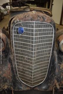 """1936 V12 Lincoln Sedan, 7 passenger, 327A """"Jane"""""""
