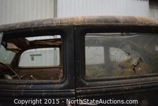 "1936 Lincoln Sedan 7 Passenger Type 327A  V12, ""Gloria"""