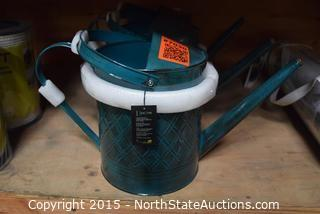 Lot of Ron Stone Watering Cans
