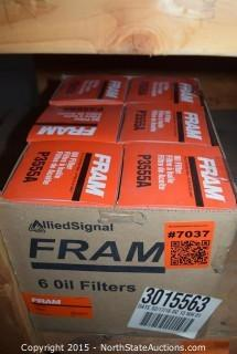 Lot of Fram Oil Filter