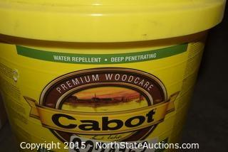 Cabot Semi-Transparent Acrylic Stain