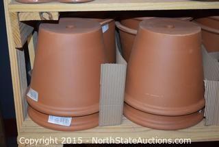 Lot of Terracotta Pots (4)