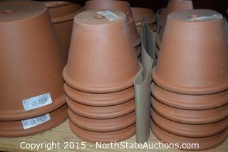 Lot of Terracotta Pots (4)