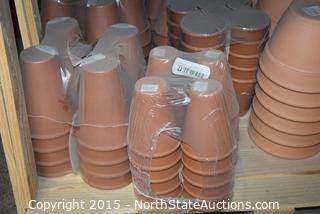 Lot of Terracotta Pots (5)