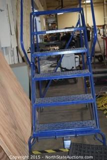 Rolling Commercial Ladder