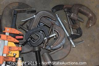 Lot of Misc Clamps