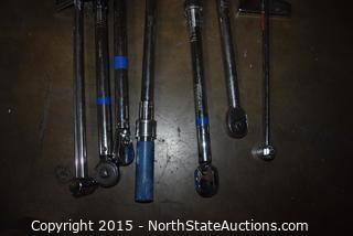 Lot of Torque Wrenches
