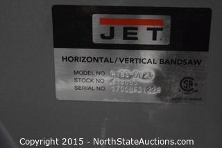 JET Horizontal-Vertical  Band Saw