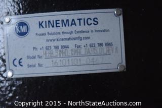 Kinematics Slew Drive. Single Axis Solar Drive.