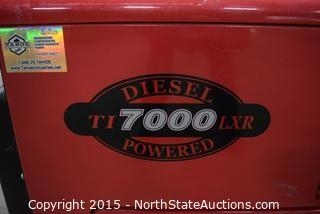 Tahoe Industries Diesel TI 7000 LXR Powered
