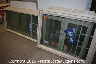 Lot of Alpine Windows