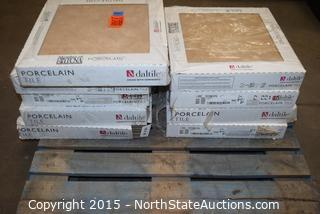 Lot of Daltile Porcelain Tile