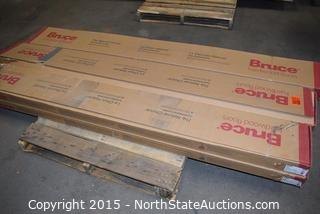 Lot of Bruce Hardwood Floors