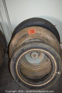 Lot of Misc Tires and 1 Rim