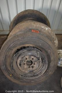 Lot of Misc Tires and Rims