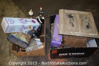 Lot of Misc Old Household Goods