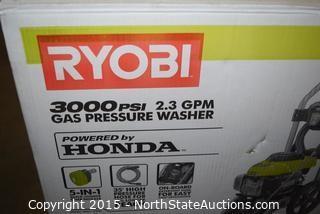 RYOBI Gas Pressure Washer