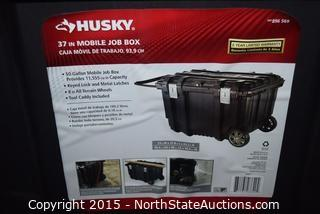 HUSKY 37in  Mobile Job Box