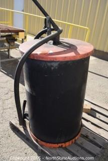 Drum with Contents (we think ink)