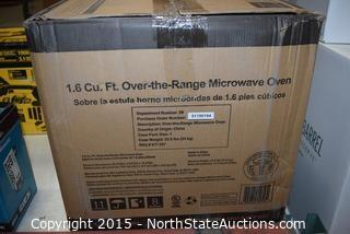 1.6 Cu ft Over-the-Range Microwave Oven