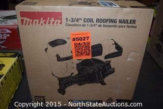 """Makita 1-3/4"""" Coil Roofing Nailer"""