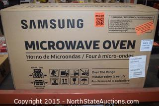 Samsung Over-the-Range Microwave Oven