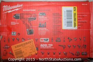 "Milwaukee M-12 3/8"" Drill/Driver Kit"