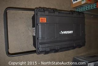 HUSKY 25-Gallon Mobile Tool Box