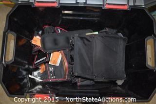 HUSKY 20 Gallon Hinged Latching Tote