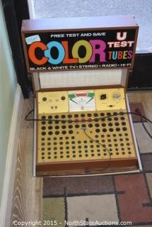 Color U Test Tubes Commercial Tube Tester