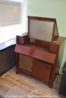 1949 RCA Victor Projection TV