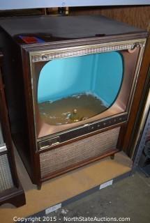 Zenith Console TV Cabinet