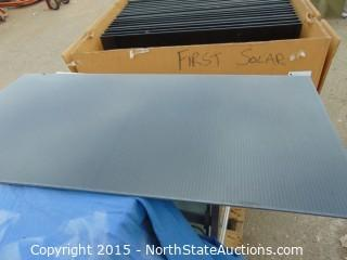 First Solar Series 3 Black Plus PV Module, Advanced thin film solar technology