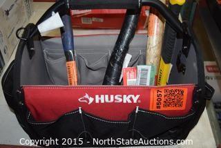 HUSKY Tool Bag with  Hammers