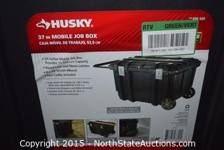 HUSKY 37in Mobile Job Box