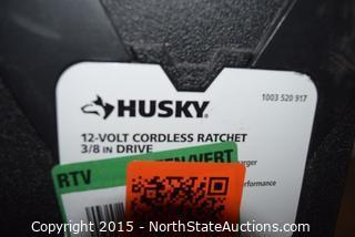 HUSKY 12-Volt Cordless Ratchet