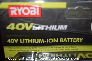 RYOBI 40V Lithium-ion Battery