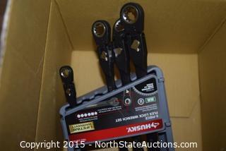 Lot of Misc Husky Wrenches