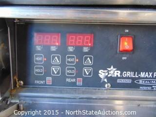 Star Grill-Max Roller Grills with Electronic Controls and Built-In Bun Drawer
