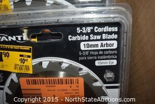 Lot of Avanti Carbide Saw Blades