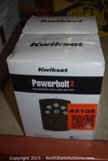Kwikset Powerbolt2 Touchpad Keyless