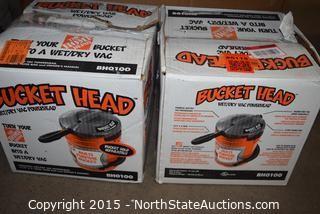 Bucket Head Wet and Dry Vac