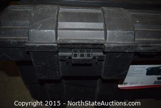HUSKY 25 Gallon Mobile Job Box
