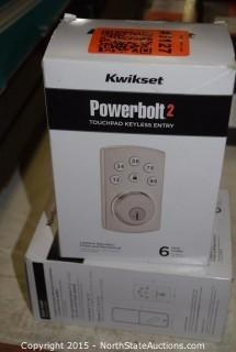 Kwikset Powerbolt2 Touchpad Keyless Entry